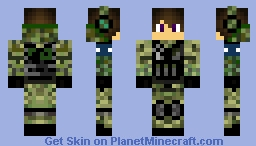 Major Kevin Minecraft Skin