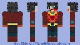 Masked Saiyan (Broly) Minecraft Skin