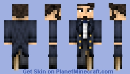 Achab ( Moby Dick ) Minecraft Skin