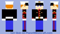 Me in Marine Dress Blues Minecraft