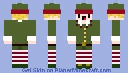 nick the elf Minecraft Skin