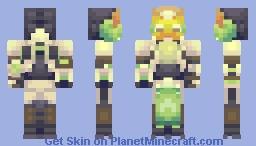 Orisa (Overwatch) Minecraft Skin