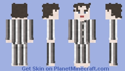 Robert Smith | The Cure | Lullaby Minecraft Skin