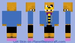 Fred_Sans Minecraft Skin