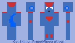 Ice (another dbz oc) Minecraft Skin