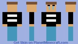 Crying Child (Fnaf 4) Minecraft Skin