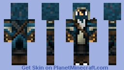 Blue Assassin Minecraft Skin