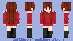 We'll kiss the freedom in the air and breathe it 'til we're unaware ☾ Minecraft Skin
