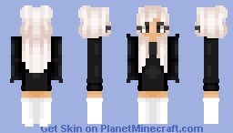 Ariana Grande // bagged_milk Minecraft Skin