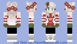 Christmas Minecraft Skin Girl.Christmas Girl 2 Minecraft Skin