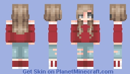 your so casual Minecraft Skin