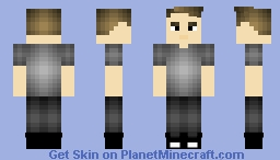 Barry Allen Minecraft Skin