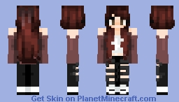 i remember when -- ɐᴉlǝɥdo Minecraft Skin