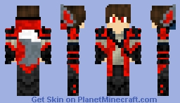 Red Killa Minecraft Skin