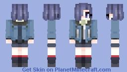 Touka Kirishima ✰ Tokyo Ghoul Minecraft Skin