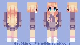 𝔗𝔢𝔰𝔱 𝔎𝔦𝔡𝔰 𝔊𝔦𝔯𝔩 ~~ 𝔅𝑦 𝔊𝔞𝔟𝔯𝔦𝔢𝔩𝔩𝔢𝔗𝔥𝔢𝓒𝔞𝔱♊ Minecraft Skin