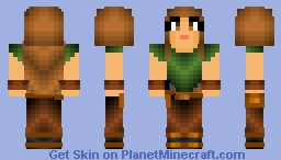 Katmar Passcol Civilian/Refugee Outfit - Edited Minecraft Skin