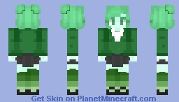 Mariposite as Heather Duke Minecraft Skin