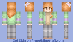 That's a snazzy jacket Minecraft Skin