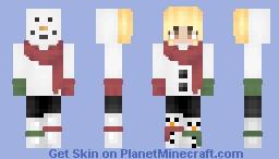 Snowman Outfit Minecraft Skin