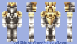 Takanuva Toa of Light (Bionicle) Minecraft Skin