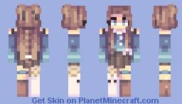 .¡te amo!  setecientos suscriptores. Minecraft Skin