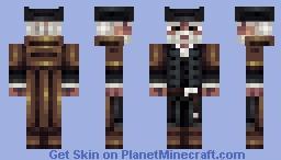 White beard Minecraft Skin
