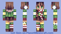 woot woot it's Christmastime // Contest Entry Minecraft Skin