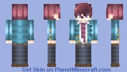 🌸愛してる。。🌸 [瀬戸口優| Yuu Setoguchi | Honeyworks] Minecraft Skin
