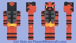 Incineroar Minecraft Skin