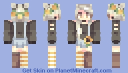 sunflowers Minecraft Skin