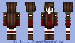 These People Are Eager For Christmas Festivities Minecraft Skin