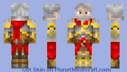 The Old Knight Minecraft Skin