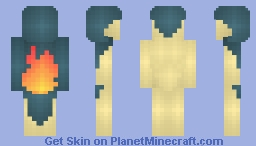Cyndaquil Minecraft Skin