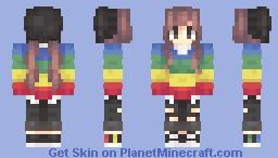 hepy birfday tu mi Minecraft Skin