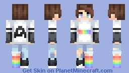 Rainbow Rocket :3 Minecraft Skin