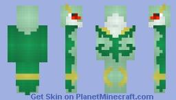 Serperior Minecraft Skin