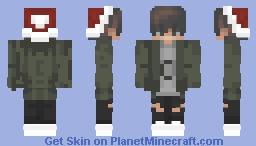Christmas Boy Minecraft Skin