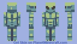 Ayyyyyy its an alien. Minecraft Skin