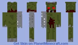 ignited Springtrap Minecraft Skin