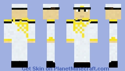 Updated Imperial Japanese Naval Officer 64x64 format Minecraft Skin
