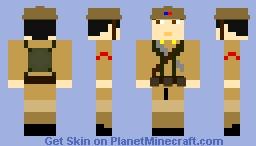 Korean Liberation Army soldier Minecraft