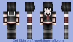 Kurome, My Favorite Akame Ga Kill Chatacter! Minecraft Skin
