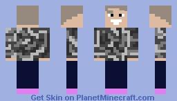 JAKE PAUL BUT IT'S TERRIBLE ON PURPOSE Minecraft Skin