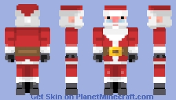 Inieloo | Santa Claus ~requested~ Minecraft Skin