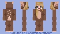Secret Santa!!! First PopReel!!! Minecraft Skin