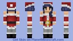 "Day 01: ♪""It's Beginning to Look alot like Christmas""♪ Minecraft Skin"