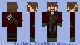 Valdir : The Great Wizard Minecraft Skin