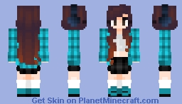 you said something -- request -- ɐᴉlǝɥdo Minecraft Skin