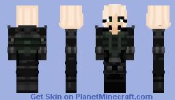 Black Widow Infinity War Minecraft Skin